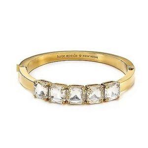 NWOT | Kate Spade | Gold-Plated & Crystal Bracelet